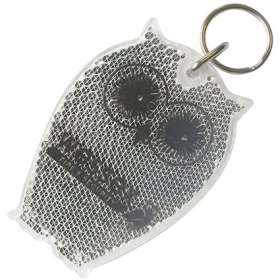 Owl Reflector Keyrings