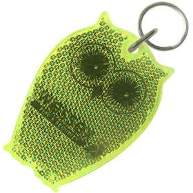 Owl Reflector Keyrings - extra images