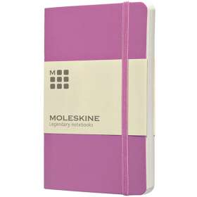 Pocket Moleskine Soft Cover Plain Notebook