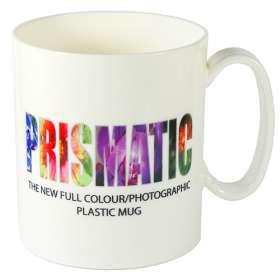 Plastic Prismatic Mugs
