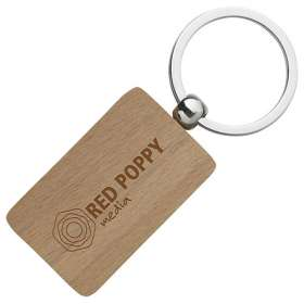 Product Image of Rectangular Wooden Keyrings