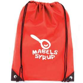 Product Image of Recyclable Non Woven Drawstring Bags