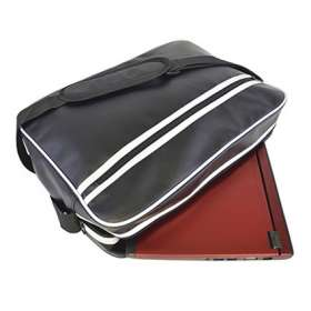 Retro Style Zipped Laptop Bags - extra images
