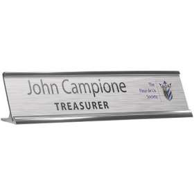Reusable Metal Nameplates