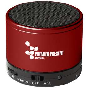 Round Metal Bluetooth Speakers