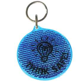 Product Image of Round Reflector Keyrings
