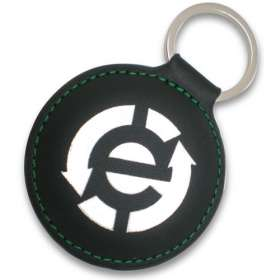 Shaped Leatherette Keychains