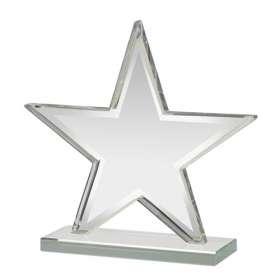 Small Glass Star Awards