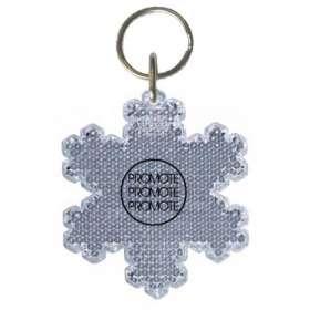 Product Image of Snowflake Reflector Keyrings