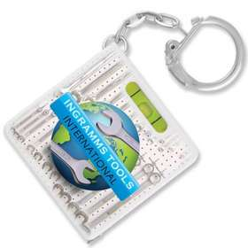 Product Image of Spirit Level Tape Measure Keyrings