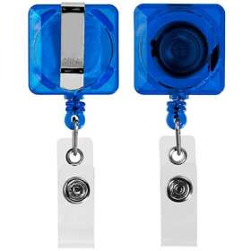 Square Pull Reel Pass Holders - extra images