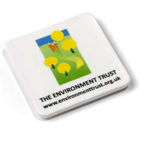 Square Recycled Plastic Magnets