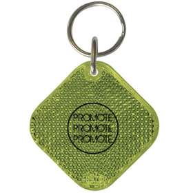 Square Reflector Keyrings - extra images