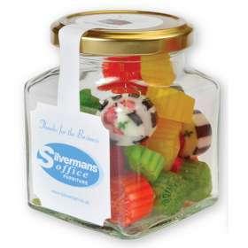 Square Retro Sweet Jars