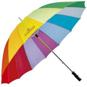Storm Proof Rainbow Umbrellas