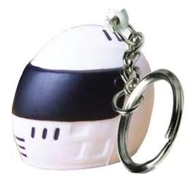Stress Crash Helmet Keyrings