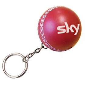Stress Cricket Ball Keyrings