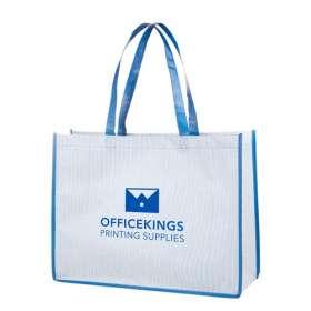 Stripey Shopper Bags