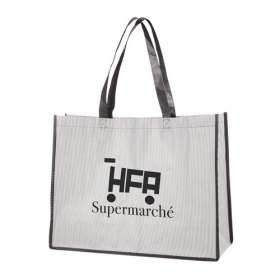 Stripey Shopper Bags - extra images