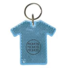 T Shirt Reflector Keyrings - extra images