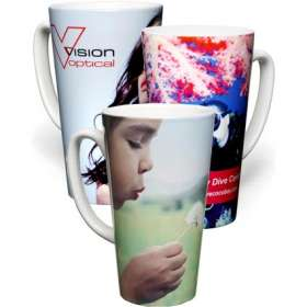 Photo Print Tall Latte Mug
