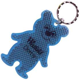 Teddy Bear Reflector Keyrings - extra images