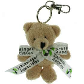 Toby Bear Keyrings with Bow