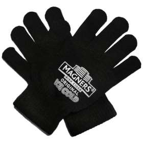 All Black Touch Screen Gloves