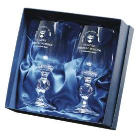 Traditional Crystal Goblet Sets