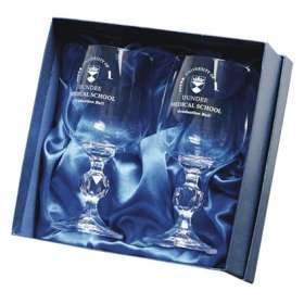 Traditional Crystal Goblet Sets