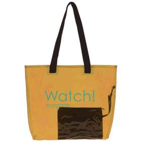 Transparent Shopper Beach Bags - extra images