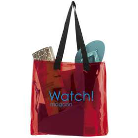 Transparent Shopper Beach Bags