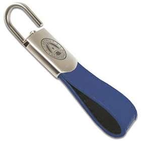 Tulsa Padlock Leather Keyfobs