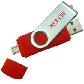 Product Image of Twist Flashdrives with Micro USB