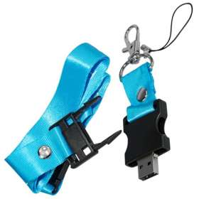 USB Drive With Built In Lanyard