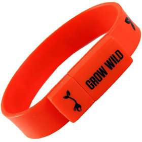 USB Silicon Wristband Flashdrives