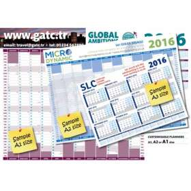 A1 Wall Planners - extra picture