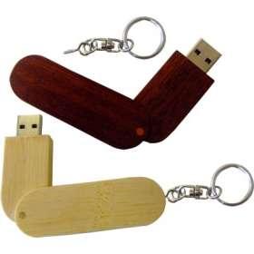 USB Eco Wooden Twist Flashdrives