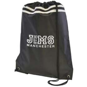 Zipped Polyester Drawstring Bags