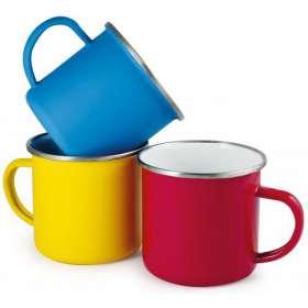 Any Colour Enamel Mugs