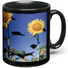 Black Photo Mugs