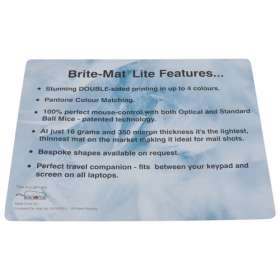 Brite Mat Lite Mouse Mat