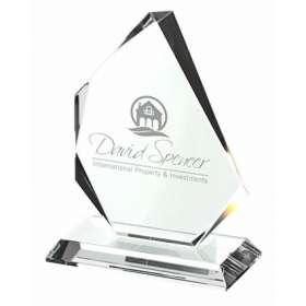 Medium Optical Crystal Trophy