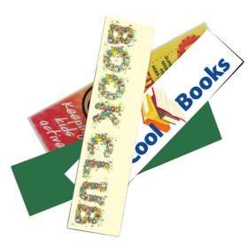 Full Colour Foam Backed Bookmarks