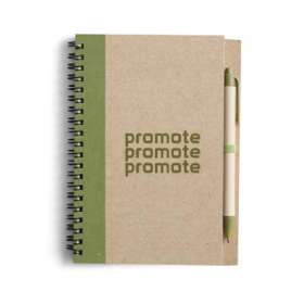 Recycled Notepad and Pen Sets