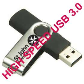 High Speed USB 3 Flashdrive Twist