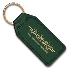 Large Rectangular Leather Keyfobs