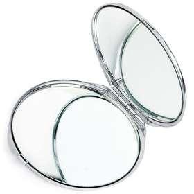 Chrome Compact Mirror