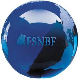 Ocean Globe Paperweight Award