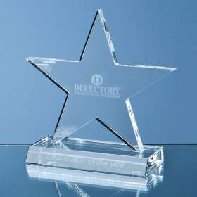 11cm Optical Crystal Star Award
